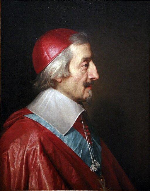 Ludwik XIII ikardynał Richelieu