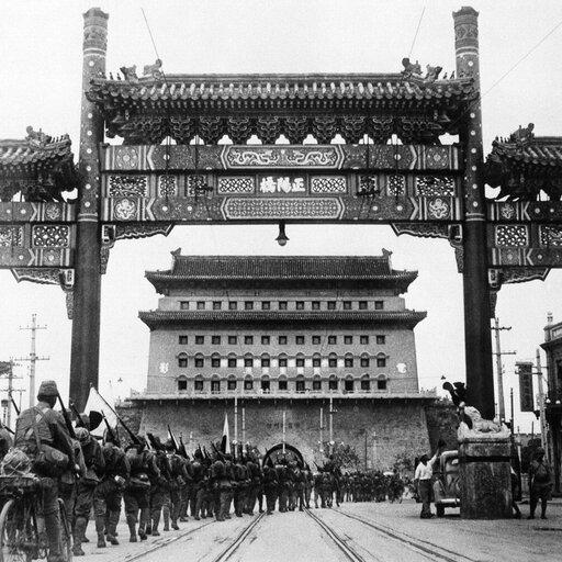 Ekspansja Japonii wAzji ijej agresja na Chiny