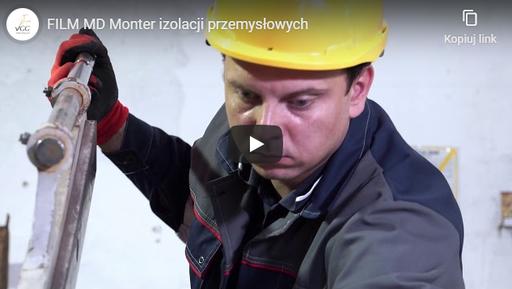 Monter izolacji przemysłowych MD FILM