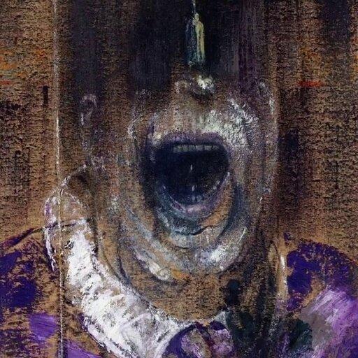 Ekspresja zawarta wdeformacji - neofiguracja Francisa Bacona