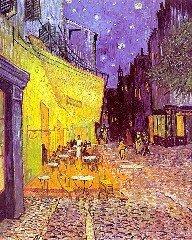 Taras kawiarni wnocy (1888)