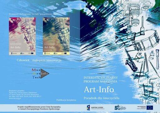 Program ART-INFO - poradnik nauczyciela do interdyscyplinarnego programu nauczania dla gimnazjum