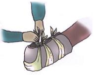 Złamanie kostki, stopy, łokcia
