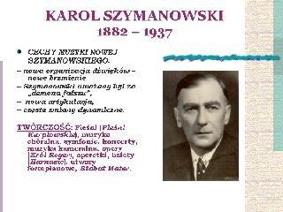Styl narodowy Karola Szymanowskiego