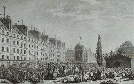 Paryż wofensywie. Wprowadzenie monarchii konstytucyjnej