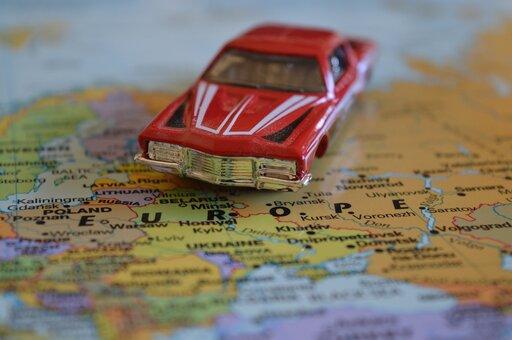 Czytanie mapy samochodowej