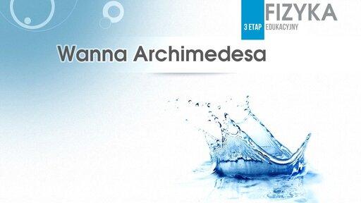Wanna Archimedesa