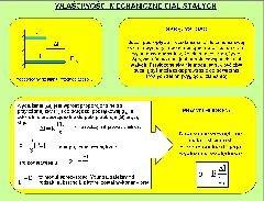 Właściwości mechaniczne ciał stałych – prawo Hooke'a