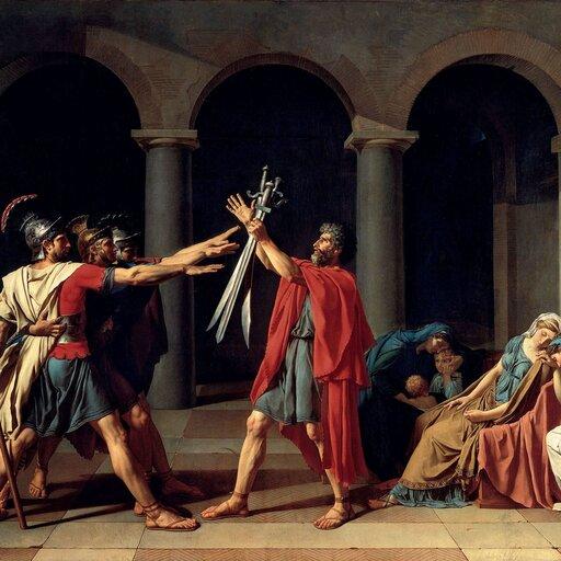 Jacques-Louis David - malarz rewolucji francuskiej itradycji antycznej