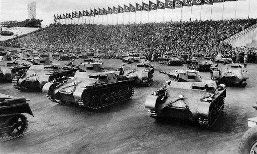 Zbrojenia nazistowskich Niemiec. Remilitaryzacja Nadrenii.