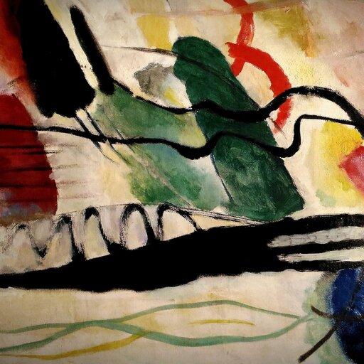 Od ekspresjonizmu do improwizacji Kandinsky'ego