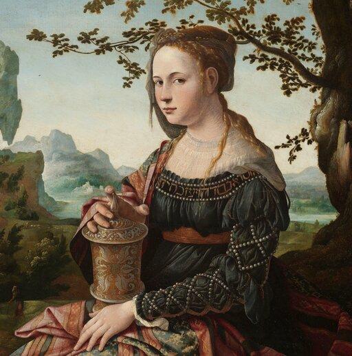 Dama inierządnica – świeckie wizerunki kobiet wśredniowieczu