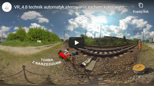 Technik automatyk sterowania ruchem kolejowym VR 4-8