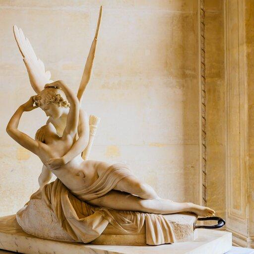 Idealizacja na antyczny wzór wklasycystycznych rzeźbach Antoniego Canovy