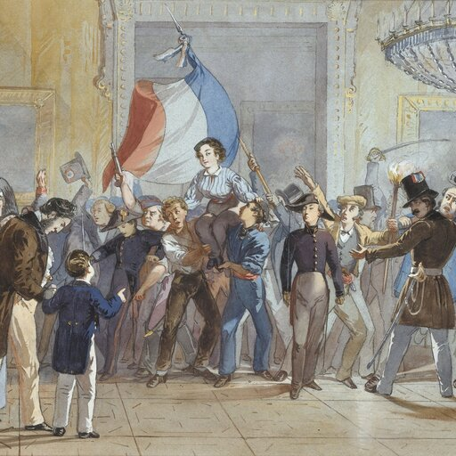Francja iHiszpania wepoce Metternicha