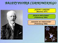 Balety Piotra Czajkowskiego