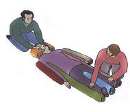 Złamanie kręgosłupa - poszkodowany przytomny