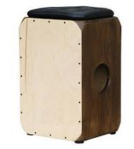 Cajon – zestaw perkusyjny wpudełku: samba