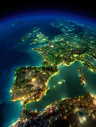 Metropolie Europy