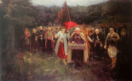 Kozacy ipierwsze powstania kozackie