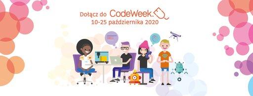 CodeWeek 2020 - Europejski Tydzień Kodowania 10-25 października 2020 r.
