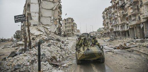 Przyczyny iskutki wojny wSyrii