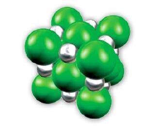 Struktura chlorku potasu