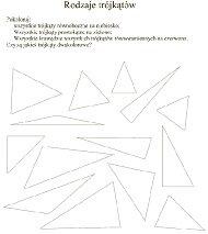 Rodzaje trójkątów