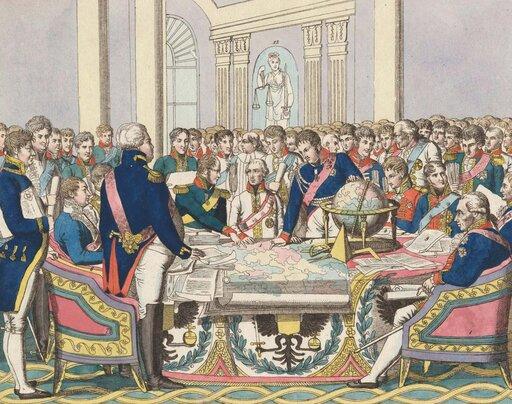 Tańczący kongres – nowy ład europejski po wojnach napoleońskich