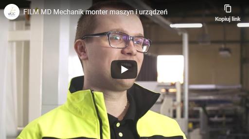 Mechanik-monter maszyn iurządzeń MD FILM