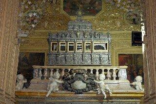 Sarkofag św. Franciszka Ksawerego