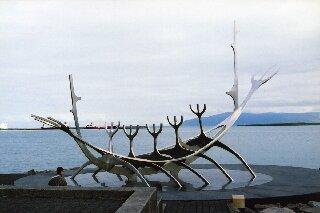Reykiavik - Viking Sculpture