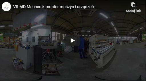 Mechanik monter maszyn iurządzeń VR MD
