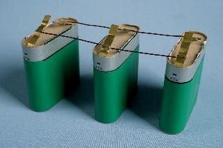 Baterie - połączenie równoległe