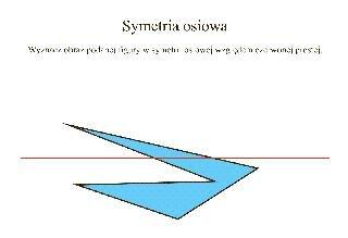 Symetria osiowa 3