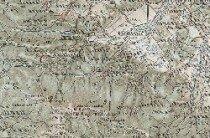 Okolice Karpacza iSzklarskiej Poręby na austrowęgierskiej mapie wojskowej z1896 roku